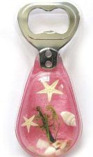 Buy Real Starfish Pink Bottle Opener Acrylic