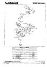 Buy Scalextrix No.343 Ford Mustang Service Sheets by download Mauritron #206451