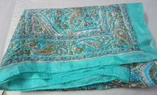 Buy 10 pcs lot indian new 100% silk scarf soft designer stole muffler christmas gift