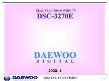 Buy Daewoo. DSC-3270E. Manual by download Mauritron #212844