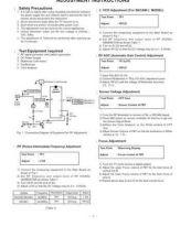 Buy GOLDSTAR CE29Q26ET 077A ADJ Service Information by download #112227