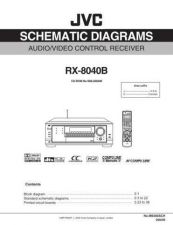 Buy JVC RX-8040B Service Manual Schematic Circuit. by download Mauritron #272272