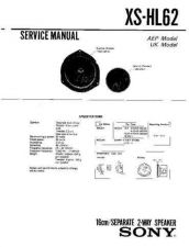 Buy Sony XS-HL62 Service Manual. by download Mauritron #246374