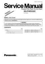 Buy Panasonic KX-FLB801 Service Manual by download Mauritron #267278