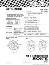 Buy Sony MHC-2750 Service Manual. by download Mauritron #242804