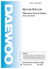 Buy Daewoo G867T9A001(r) Manual by download Mauritron #226165