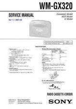 Buy Sony WM-GX221.. Service Manual. by download Mauritron #245859