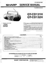 Buy Sharp QTCD131H-132H Service Manual by download Mauritron #210209