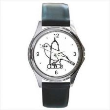 Buy Canary Bird Art Unisex Round Wrist Watch