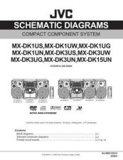 Buy JVC MX-DK3UG[2] Service Manual by download Mauritron #271868