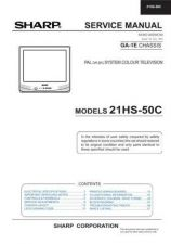 Buy Sharp 21HS50C (1) Service Manual by download Mauritron #207439