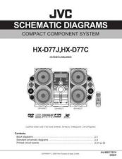 Buy JVC HX-D77C Service Manual. On by download Mauritron #271087