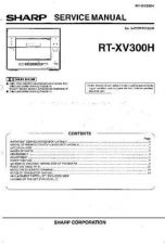 Buy Sharp RTXV300H Service Manual by download Mauritron #209529
