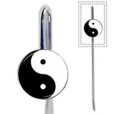 Buy Yin Yang YinYang Symbol Metal Bookmark