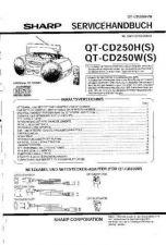 Buy Sharp QTCD250H-W SM DE(1) Service Manual by download Mauritron #210227
