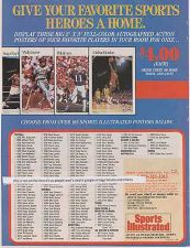 Buy 1987 michael jordan chicago bulls nba basketball sports illustrated magazine ad