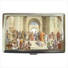 Buy School Of Athens Art Cigarette Money Credit Business Card Case