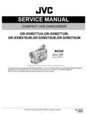 Buy JVC GR-SXM277UM Service Manual Schematic Circuit. by download Mauritron #270823