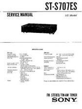 Buy Sony str-av770x Service Manual. by download Mauritron #245004