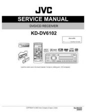 Buy JVC KD-DV6102 Service Manual Schematic Circuit. by download Mauritron #271259
