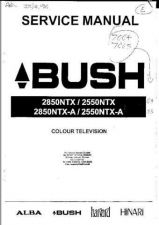 Buy HARVARD 2850NTX-A COLOUR TV SERVICE MANUAL by download #108477