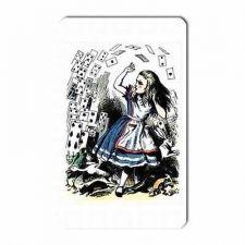 Buy Alice In Wonderland Falling Playing Cards Art Vinyl Fridge Magnet