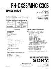 Buy Sony FH-414 Service Information by download Mauritron #237783
