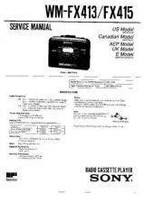 Buy Sony WM-FX41 Service Manual. by download Mauritron #245805