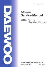 Buy Daewoo FR11000011 Manual by download Mauritron #226043