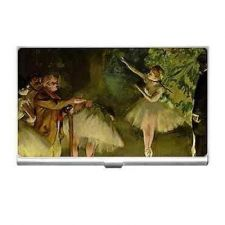 Buy Ballet Class Edgar Degas Art Business Credit Card Case Holder
