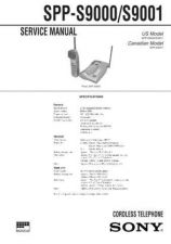 Buy SONY SPP-SS965 Technical Info by download #105234