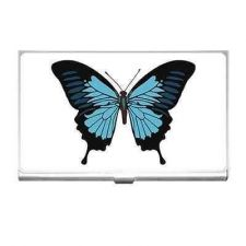 Buy Blue Butterfly Business Credit Card Holder