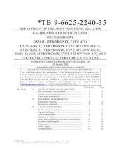 Buy TEKTRONIX 475cal by download #107257