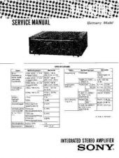 Buy Sony TA-F830ES Service Manual by download Mauritron #233349