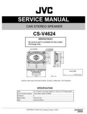 Buy JVC CS-V6932 Service Manual Schematic Circuit. by download Mauritron #270204