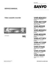 Buy Fisher. Service Manual For VHR-M292E by download Mauritron #217637