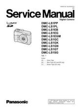 Buy Panasonic DMC-LX2EGM Service Manual with Schematics by download Mauritron #266884