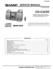 Buy Sharp CDC423H (1) Service Manual by download Mauritron #208496