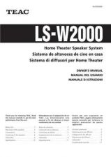 Buy Teac LS-W2000(ESI) Service Manual by download Mauritron #223763