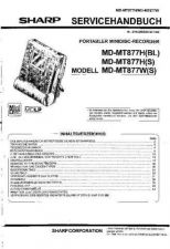 Buy Sharp MDMT877H-W SM DE(1) Service Manual by download Mauritron #210081