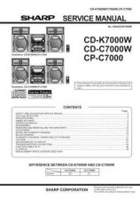 Buy Sharp CD-BP1300W Service Manual by download Mauritron #231086