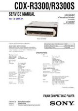 Buy Sony CDX-R3000 Manual by download Mauritron #228254