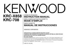 Buy Kenwood KRC-X858 Operating Guide by download Mauritron #219434