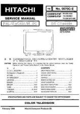 Buy HITACHI No_0070C-E Service Info by download #108667