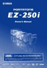 Buy Yamaha EZ250IE Operating Guide by download Mauritron #247914