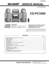 Buy Sharp CDPC3500 Service Manual by download Mauritron #208648