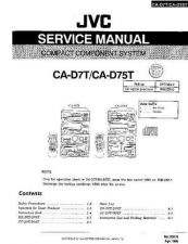 Buy JVC jvc-ca-d7t--- Service Manual by download Mauritron #273484