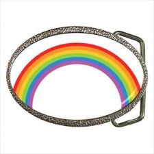 Buy Colorful Rainbow Unisex Belt Buckle