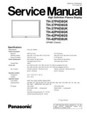 Buy Panasonic th_42ph10uk_pcn2 Service Manual by download Mauritron #269143