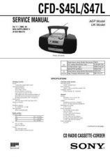 Buy Sony CFD-S38 Manual-1662 by download Mauritron #228349
